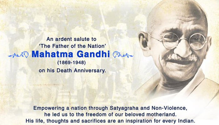 The President, PM Pay Tribute To The Father Of The Nation, Mahatma Gandhi On His Death Anniversary