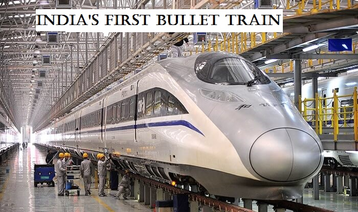 Work For India's First Bullet Train Route Begins Between Mumbai-Ahmedabad