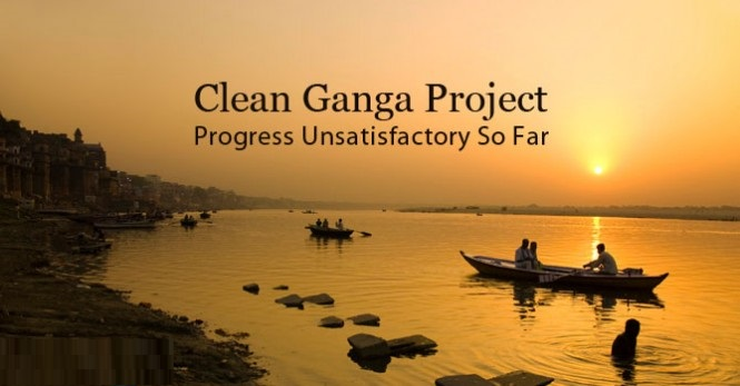 Clean Ganga-Funds Flow Generously For The project, But River Far From Clean