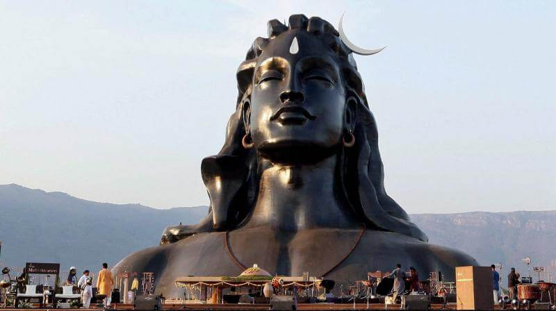 PM Modi Unveils 112- Feet Tall Adiyogi Lord Shiva Statue On MahaShivaratri