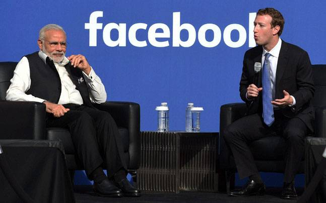Here's What Mark Zuckerberg Said About PM Modi In A Facebook Post