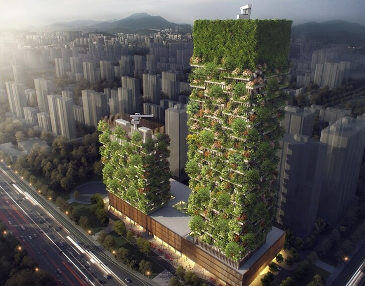 Asia's First Vertical Forest