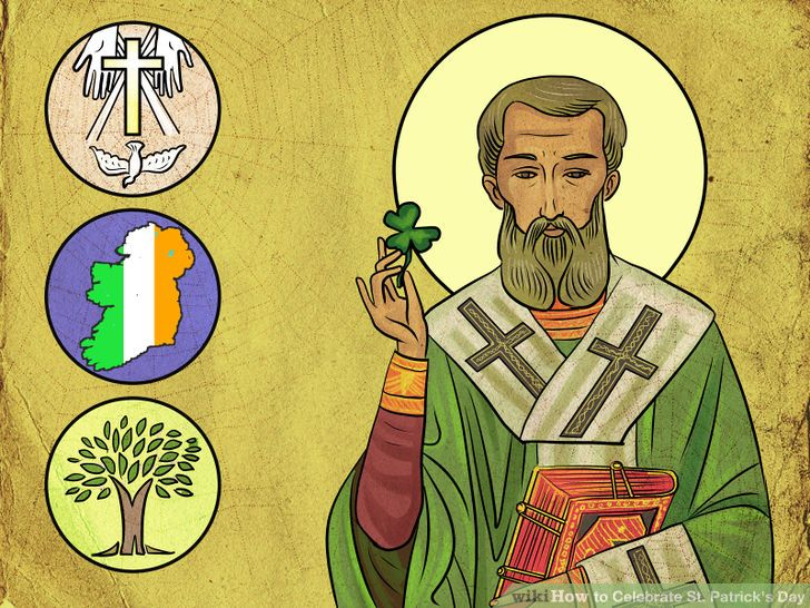 Saint Patrick's Day – People Hailed At Celebration
