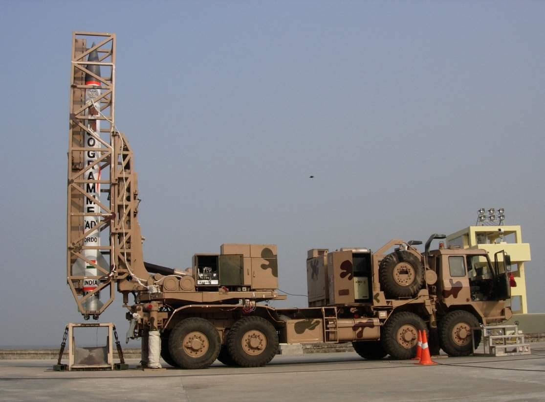 Interceptor Missile