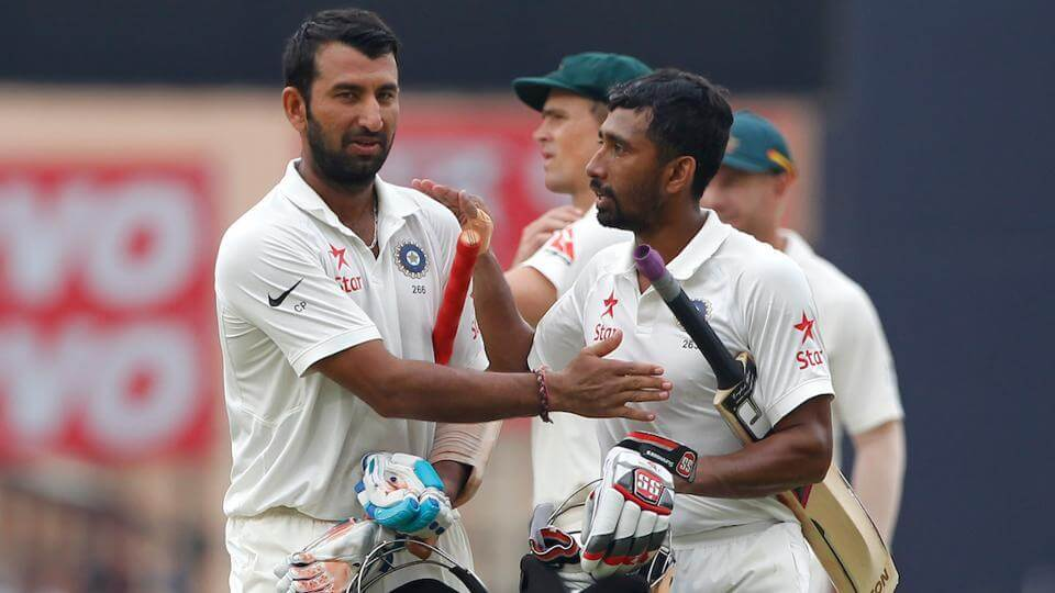 Cheteshwar Pujara, Wriddhiman Saha Add Steel To The Indian Cricket Team's Armoury