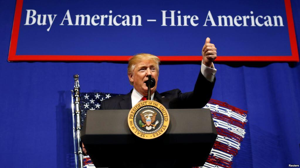 U.S. President Donald Trump Implements the order H-1B Visa