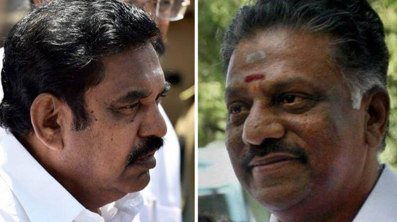 AIADMK Factions Seal Merger Deal, OPS Is Set To Return As CM – Report