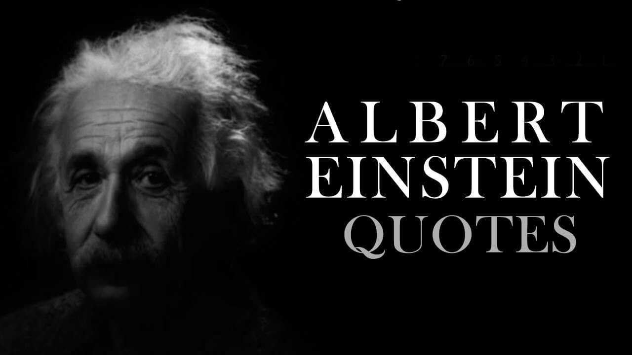 Top 33 Albert Einstein Quotes to succeed | Best Quotes
