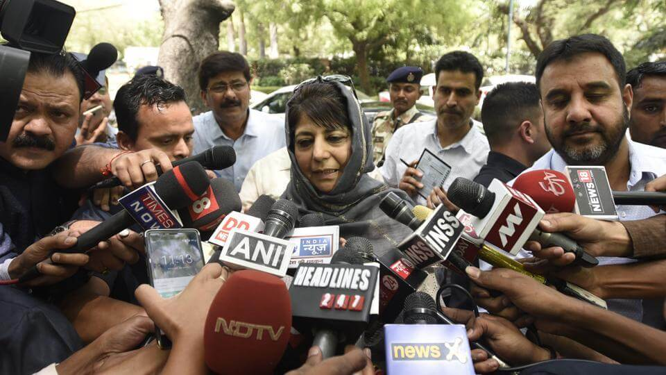 Mehbooba Declares Modi Ready To Talk But No Dialogue Amid Bullets, Stones