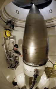 `ICBM missile