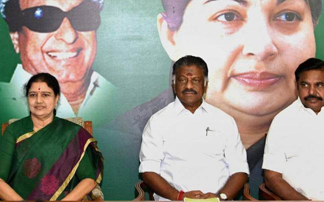 Sasikala and Dinakaran
