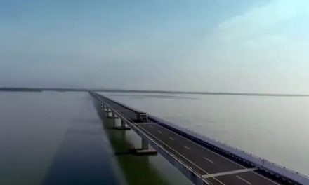 Modi Opens India's Longest Bridge, Dhola-Sadiya