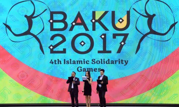 Baku 2017 | Islamic Solidarity Sports Federation Games is ON