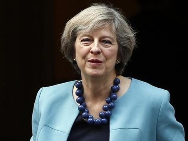 theresa may wants stronger india