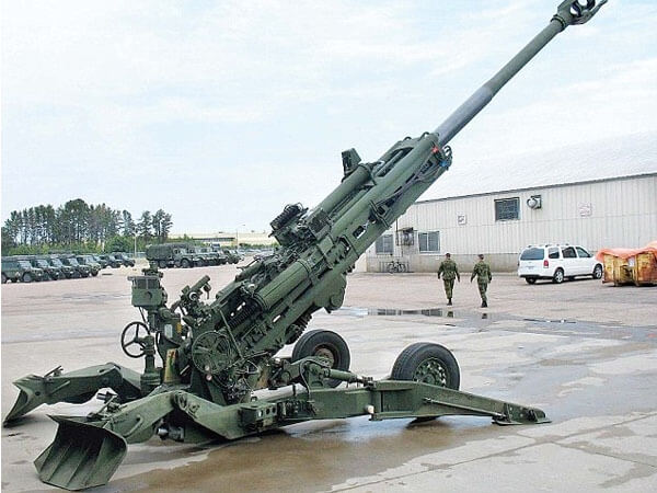 The Indian Army has taken delivery of two M777 Ultra-Light Howitzers(ULH)