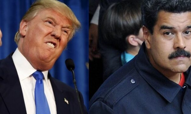 Nicolas Maduro Says Trump's Imperialist Hand Behind Venezuela Crisis