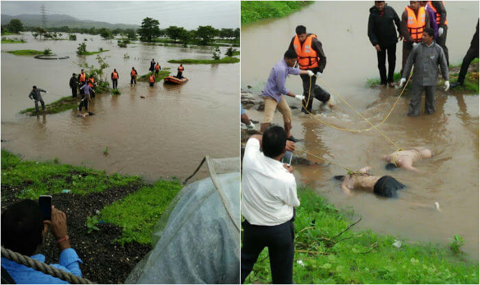 Goa Bridge Collapsed Two Dead & Several Missing