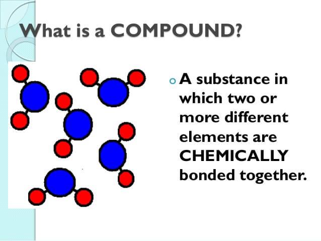 1.1 ELEMENTS, MOLECULES & COMPOUNDS |