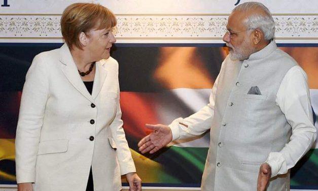 Modi-Merkel Meet   Discussions in Terrorism, OBOR, GST and Smart City Innovation