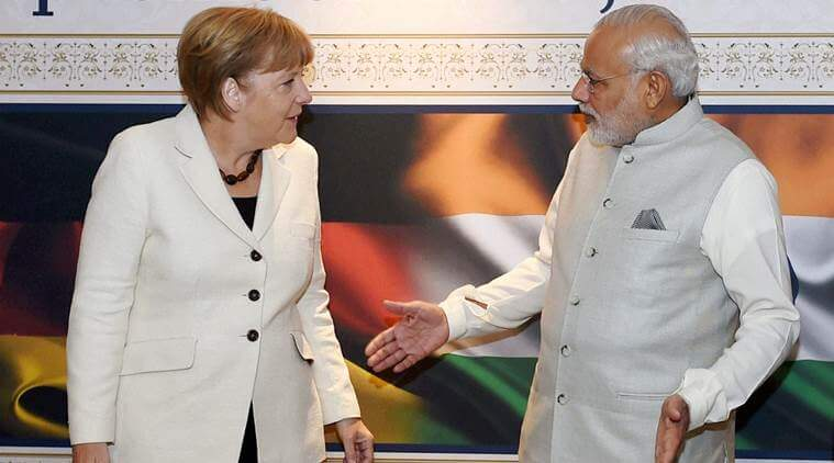 Modi-Merkel Meet at Germany