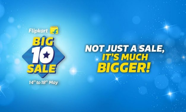 Flipkart Big 10 Sale Starts on May 14 | Biggest Sale of the year