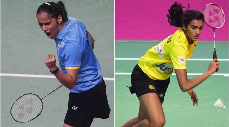 sindhu paused thailand open  saina in all three