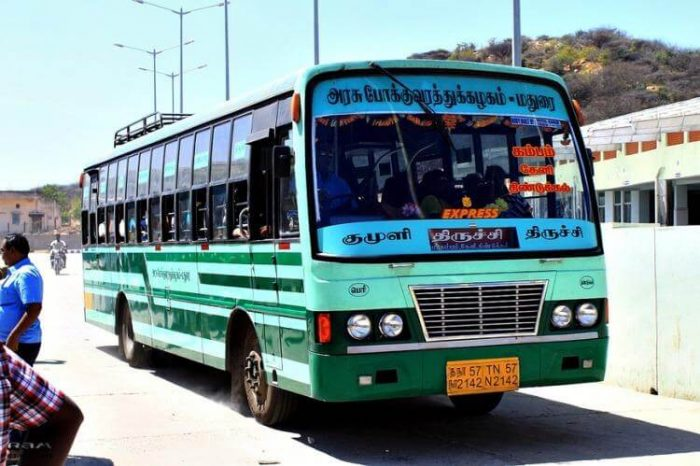 Tamil Nadu State Road Transport Workers on Strike