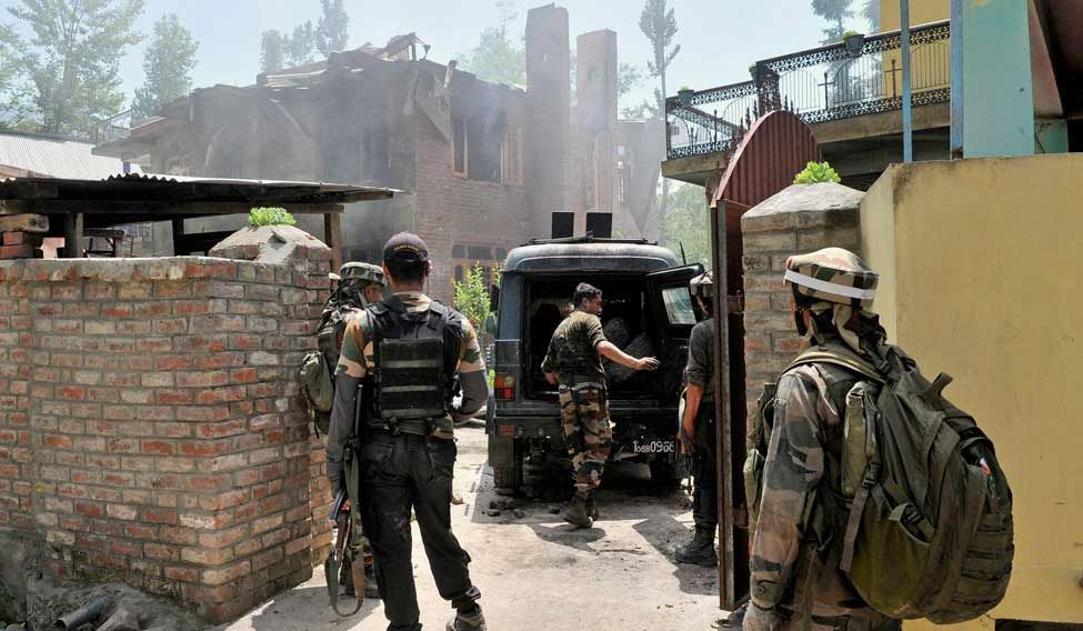 In Kashmir's Sopore: Two Militants Killed In Encounter
