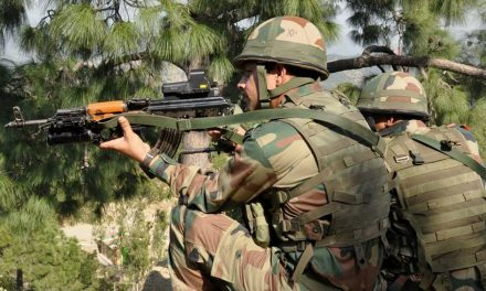 Pakistan Army Man Fires at Indian Posts
