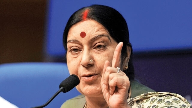 Sushma Swaraj explained that why India had joined in the Paris Climate Agreement.