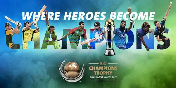 ICC Championship Trophy 2017 Live: Scorecard | Results | News