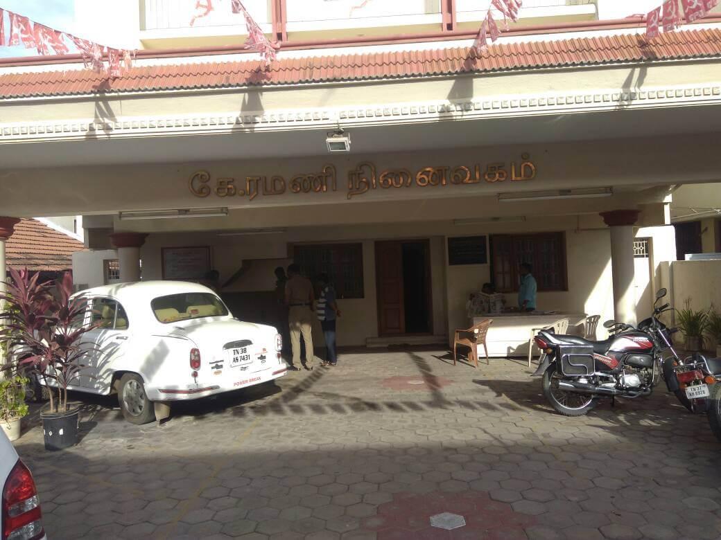 CPI(M) office in Chennai's Gandhipuram