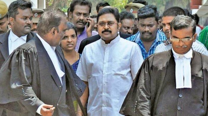 TTV Dhinakaran gets bail today by a special court on the ground that the poll officials