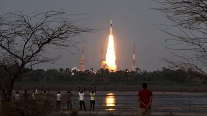 At the time of 5.28 pm from the second launch pad, they launched
