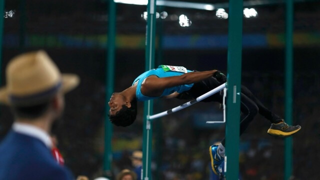 He won the gold medal at Rio Paralympics in the men's high jump T-42 event, with the leap of 1.89m i.e. 6feet and 2inch.
