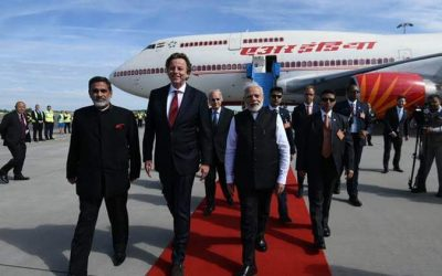 PM Narendra Modi Arrives in Netherlands on Final Leg of his Three-nation Tour