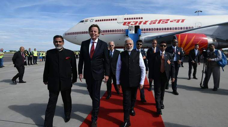 PM Narendra Modi Arrives in Netherlands