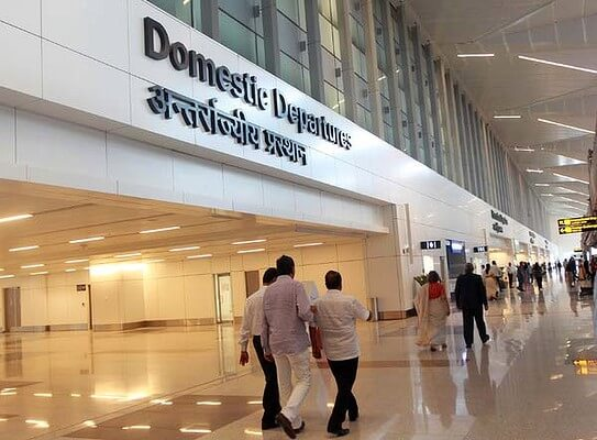 Domestic Depatures of Indira Gandhi International Airport