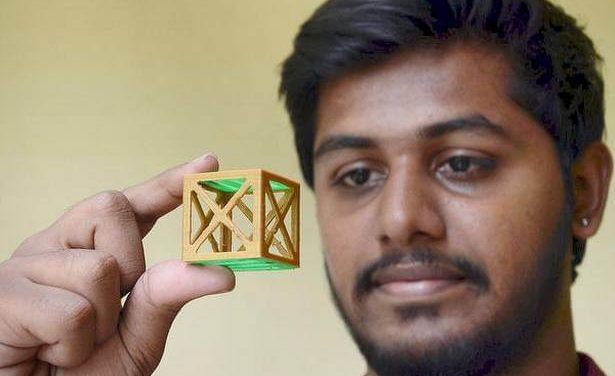 Tirupati Boy Launches Kalam Satellite | Chennai-based Space Kidz India Helped him to design 3.8 cm Cube Satellite