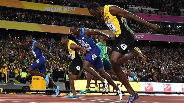 The great Jamaican Usain Bolt Last Solo Race