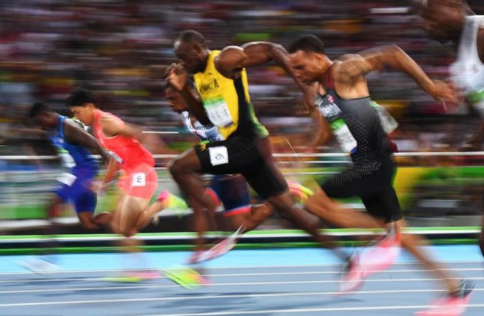 The great Jamaican Usain Bolt's Last Solo Race