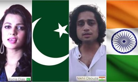Watch The First United National Anthems of India and Pakistan