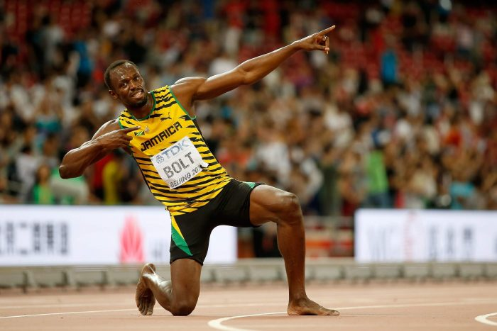 The great Jamaican Usain Bolt