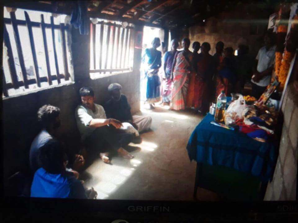 Vijay Visits Anitha's Home