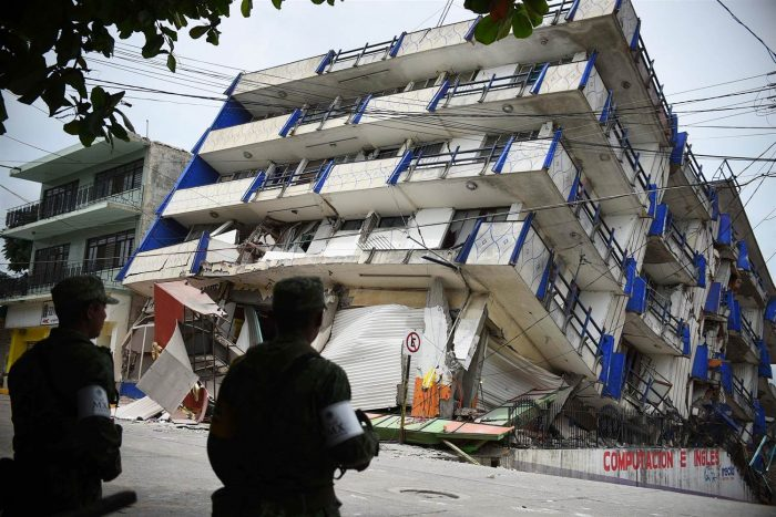 A powerful earthquake struck central Mexico