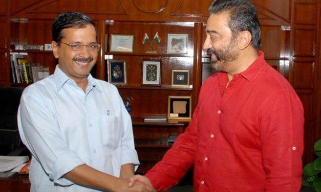 Delhi CM Arvind Kejriwal To Meet Kamal Haasan In Chennai   Kamal Hassan Tweets