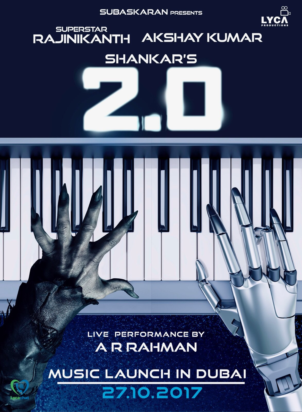Superstar Rajinikanth's 2.0