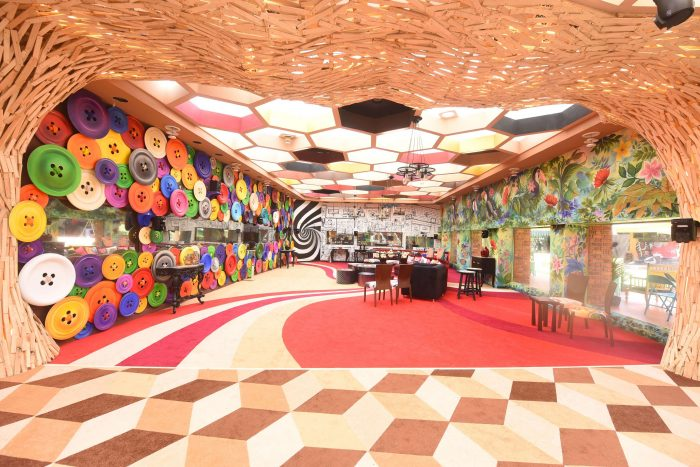 Living Area of Colors TV Bigg Boss 11 House