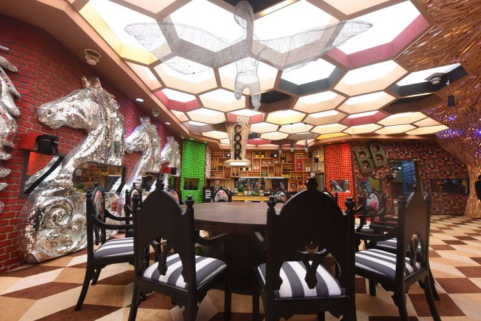Dining Area of Colors TV Bigg Boss 11 House