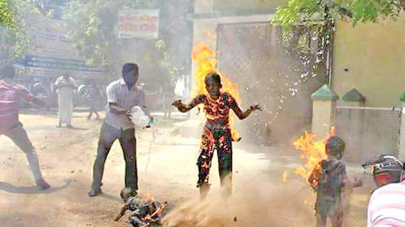 Tirunelveli Self-Immolation Case